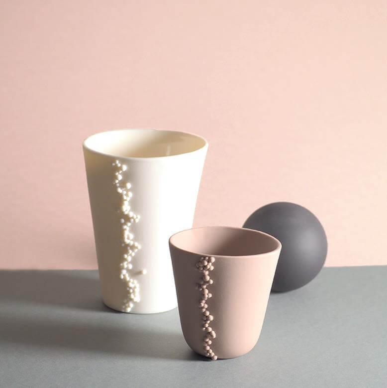 Les porcelaines de Valérie Delobal chez Natalia Franquet