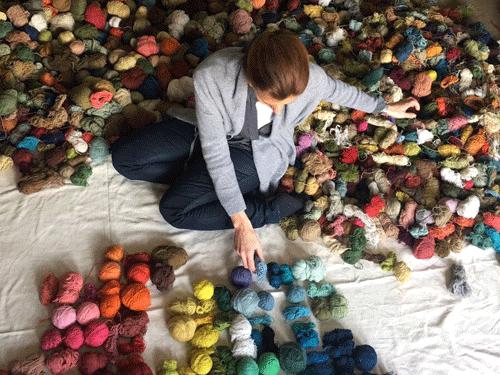 Le choix des couleurs - collection abstra